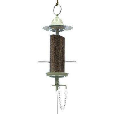 100 Series Green Mini Finch Birdfeeder