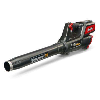 XD 130 MPH 550 CFM 82-Volt MAX Lithium-Ion Cordless Leaf Blower Kit with 2 Ah Battery and Rapid Charger