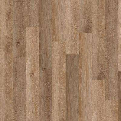New Liberty 12 mil 6 in. x 48 in. Taupe Resilient Vinyl Plank Flooring (53.93 sq. ft. / case)