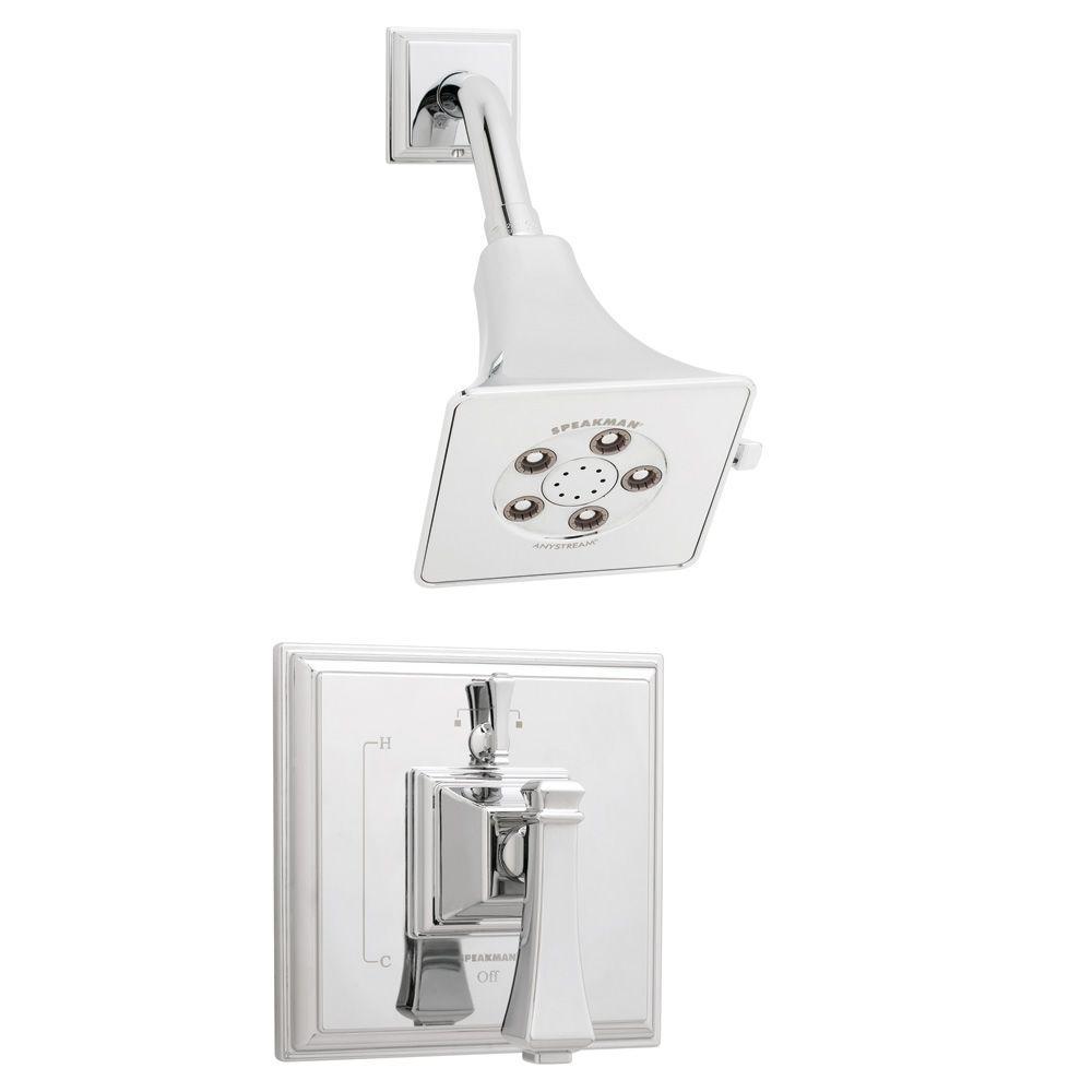 Speakman Rainier 1 Handle Pressure Balance Shower Faucet