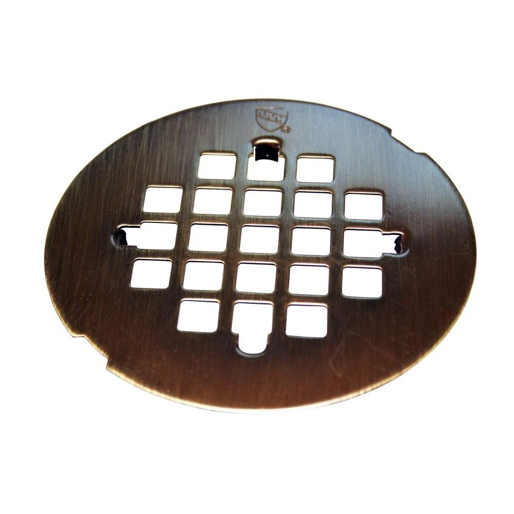 Brass Snap In Shower Strainer Grid