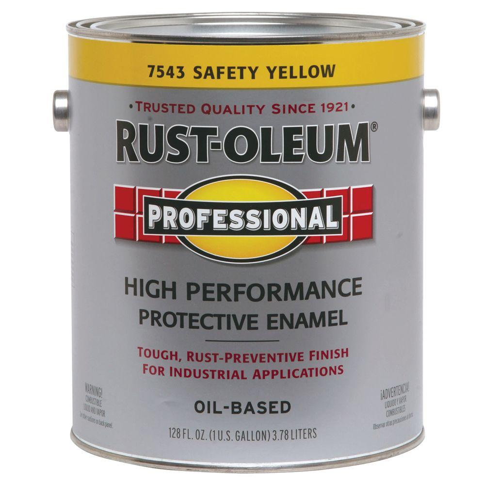 Rust-Oleum Professional 1-gallon Safety Yellow Paint-DISCONTINUED