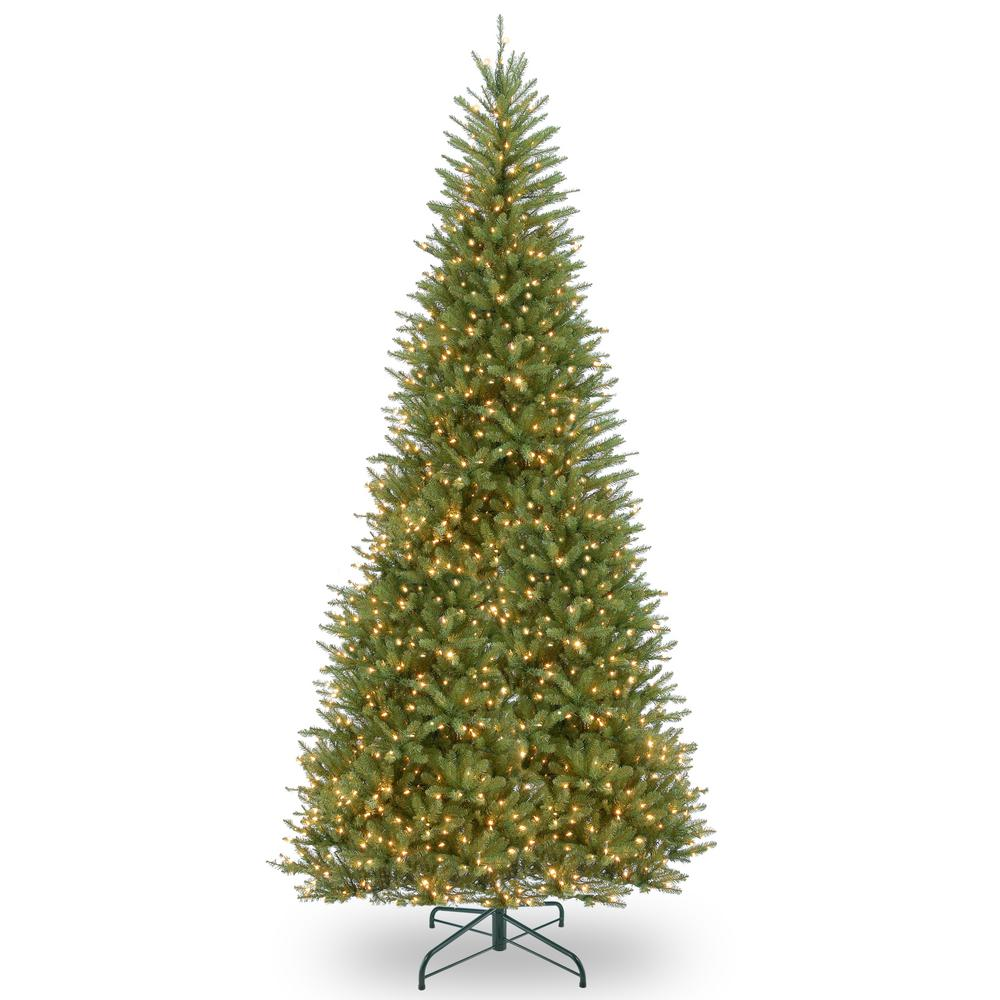 National Tree Company 14 ft. Dunhill Fir Slim Artificial ...