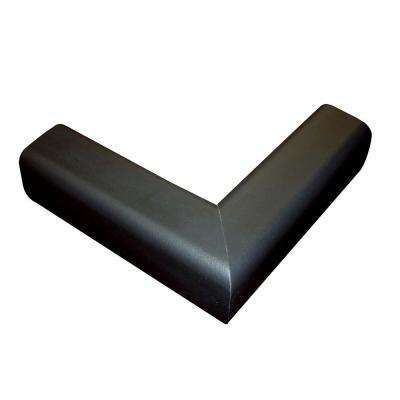 Pressure-Mounted Fireplace Cushion in Black