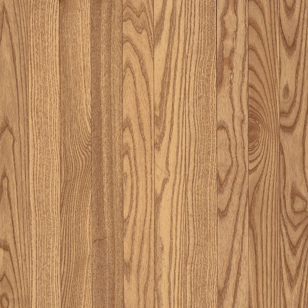 American Originals Natural Oak 3/8 in. T x 5 in. W x Varying L Click Lock Engineered Hardwood Flooring (22 sq.ft.)