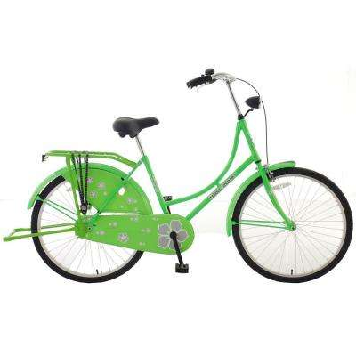 New Oma Dutch Cruiser Bicycle with Chain Guard and Dress Guard, 26 in. Wheels, 18 in. Frame, Women's Bike, E