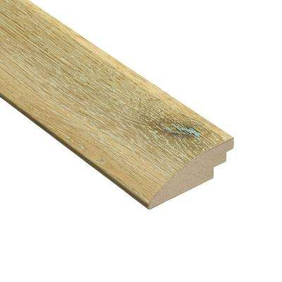 Wire Brushed White Oak 3/8 in. Thick x 2 in. Wide x 78 in. Length Hardwood Hard Surface Reducer Molding