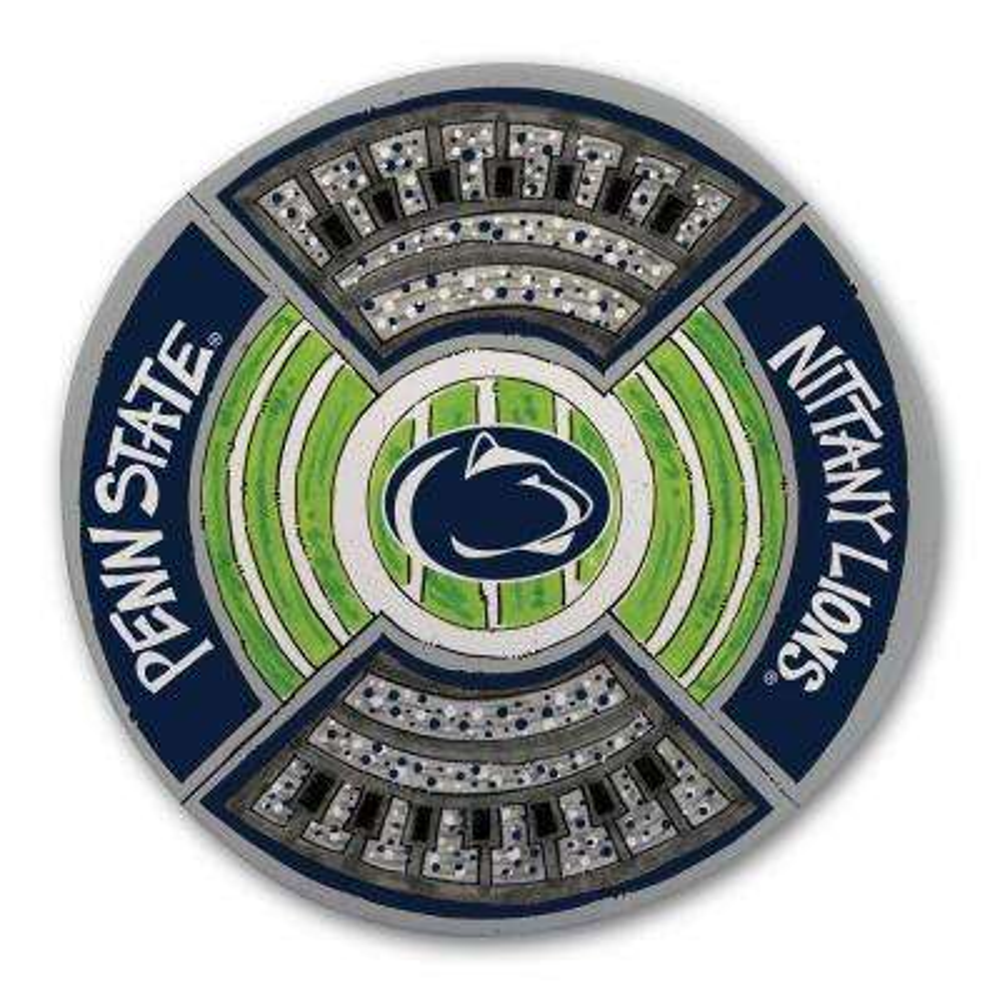 Penn State Football Stadium Melamine Platter