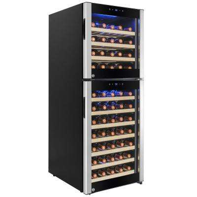 19.5 in. 73-Bottle Compressor Wine Cooler