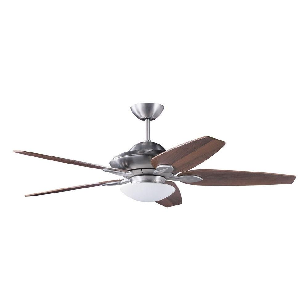 Filament Design Cassiopeia 52 in. Indoor Satin Nickel Ceiling Fan