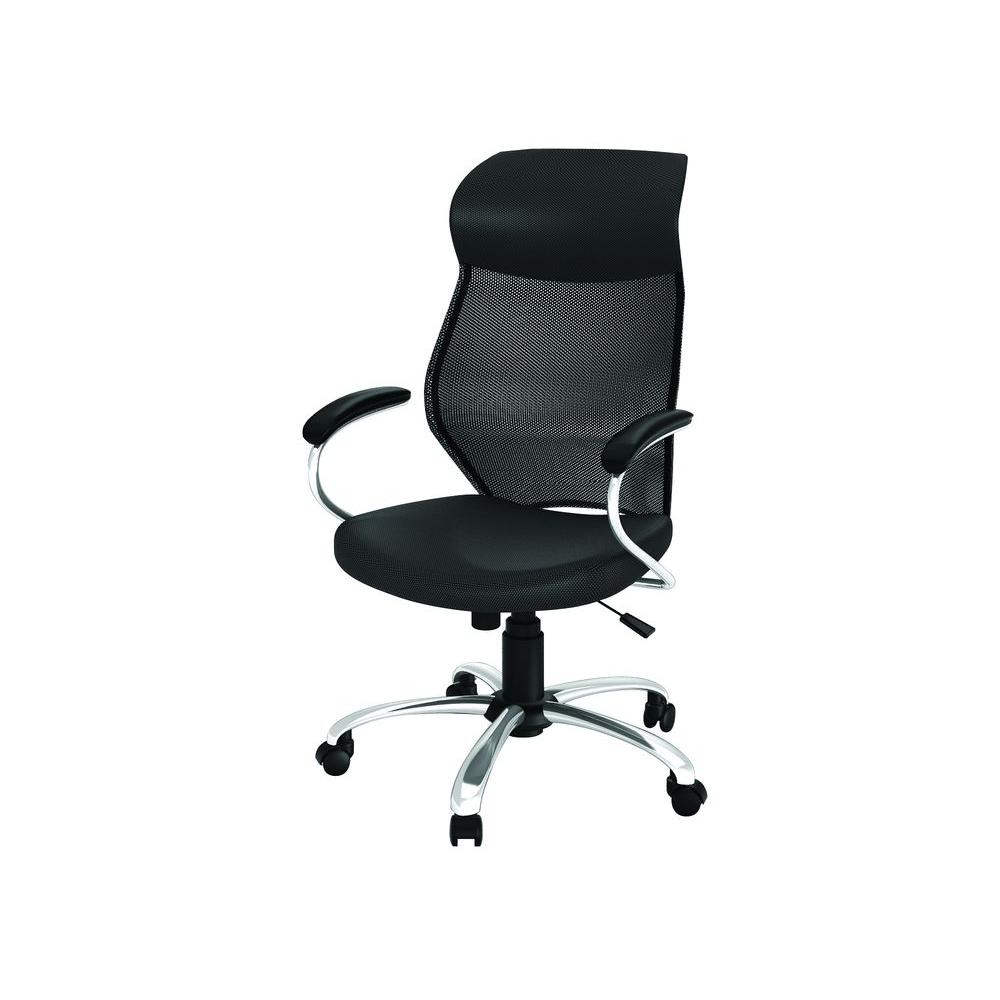 z line designs black manager office chair