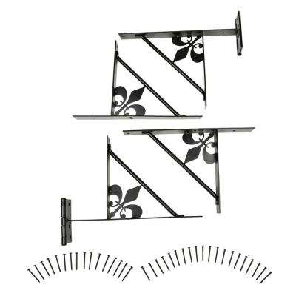 EasyGate Decor Fleur-De-Lis No-Sag Gate Kit