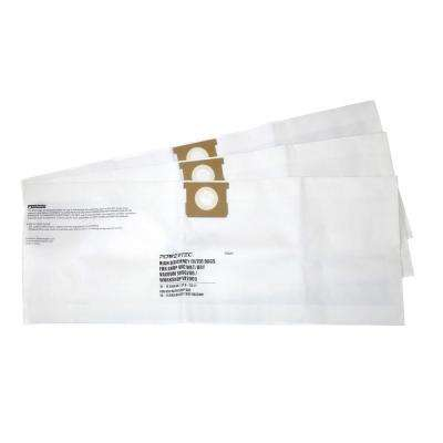 10 Gal. - 14 Gal. High Efficiency Filter Bags for Shop-Vac 9066200 and VF2005 (3-Pack)