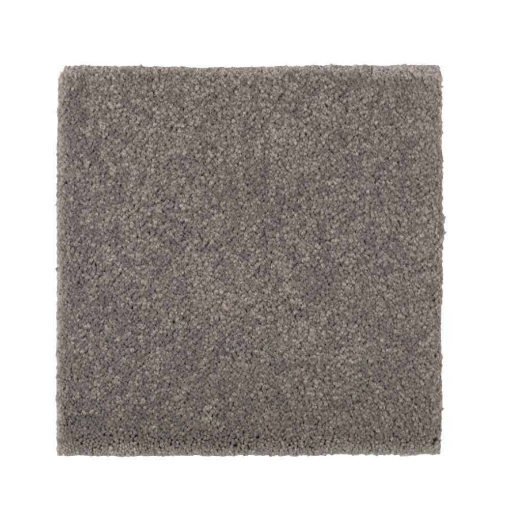 Gazelle I - Color Mountain Mist Texture 12 ft. Carpet