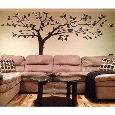 133 in. x 90 in. Super Big Tree Removable Wall Decal
