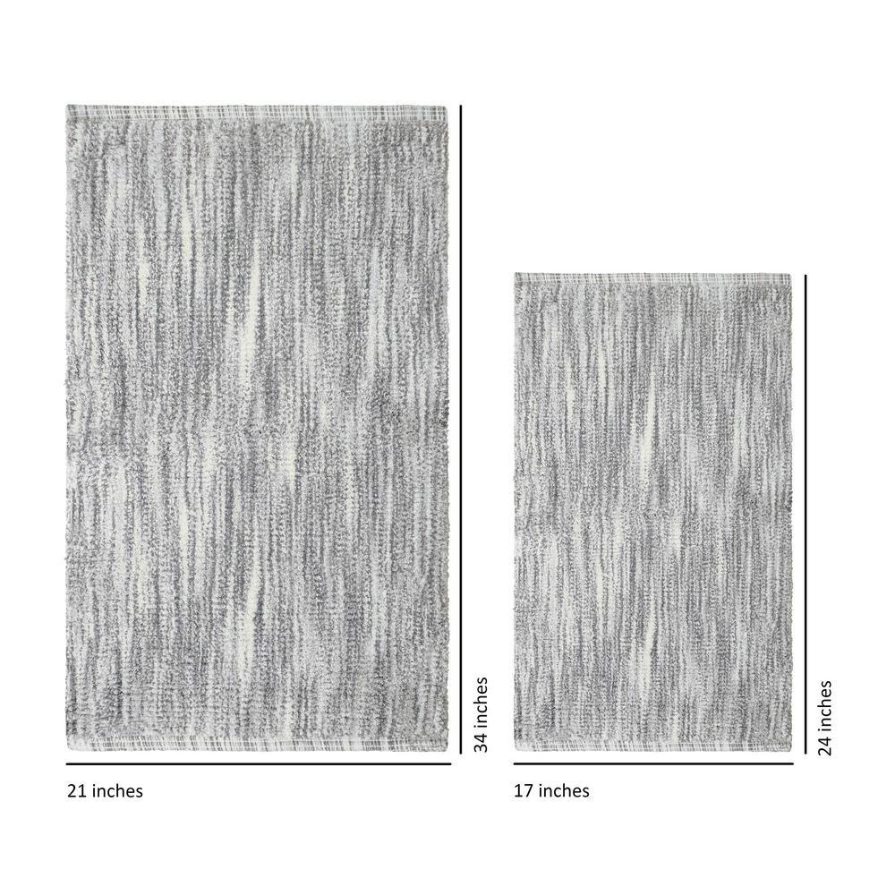 Jean Pierre Taylor Reversible Cotton Slub 17 inch x 24 inch or 21 inch x 34 inch 2-Piece... by Jean Pierre