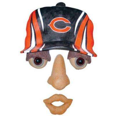 14 in. x 7 in. Forest Face Chicago Bears