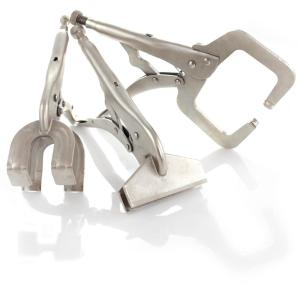 Capri Tools Welding Clamps Set (3-Piece) by Capri Tools