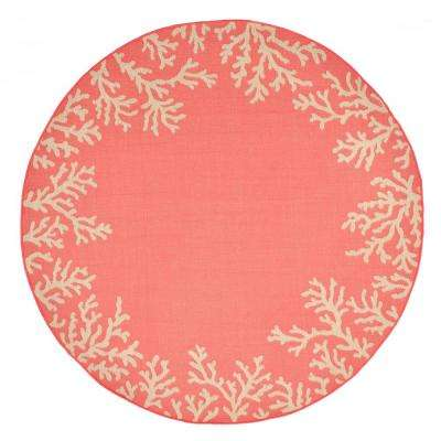 baxter neptune bdr coral 7 ft 10 in x 7 ft 10 in area rug