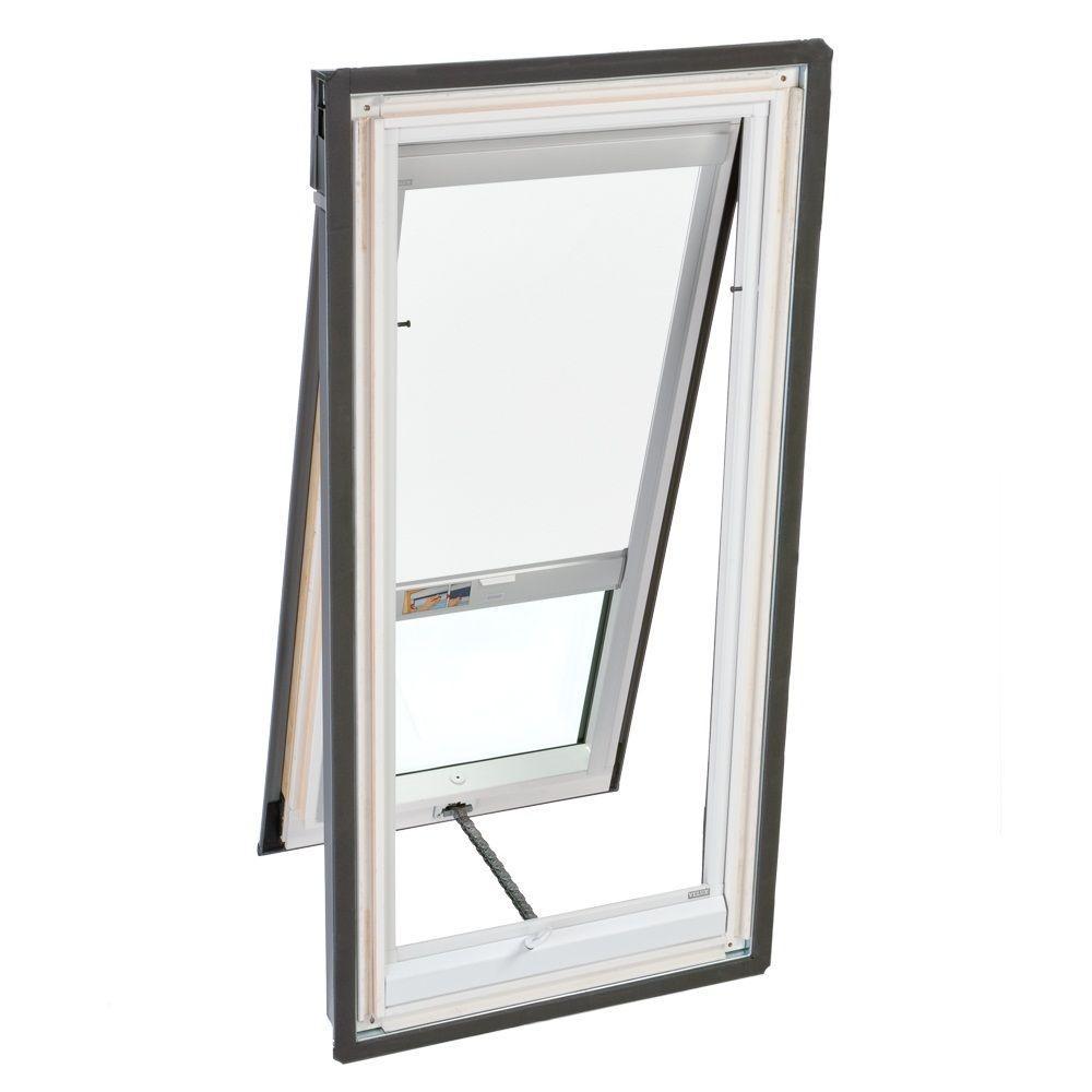 VELUX White Solar Powered Light Filtering Skylight Blind for VS/VSE/VSS C01 Models