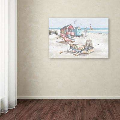"30 in. x 47 in. ""Beach"" by The Macneil Studio Printed Canvas Wall Art"