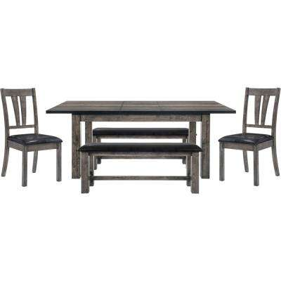 4 Legs - 4 People - Bench Seating - Dining Room Sets - Kitchen ...