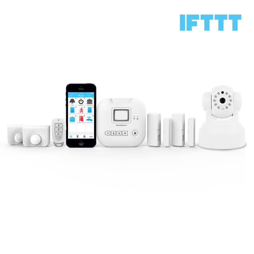 Home alarm systems home security systems the home depot alarm camera deluxe kit solutioingenieria Choice Image