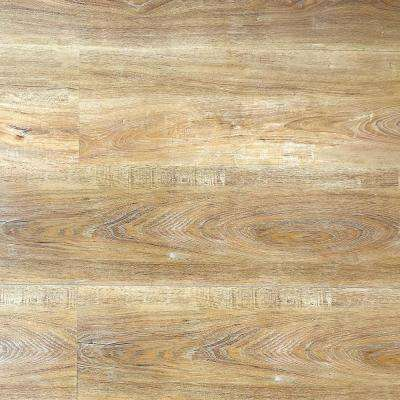HydroStop Miami Waves Floor&Wall DIY 7.2 in. W x 48 in. L Rigid Core SPC Click Floating Vinyl Plank(24.00 sq.ft. /case)