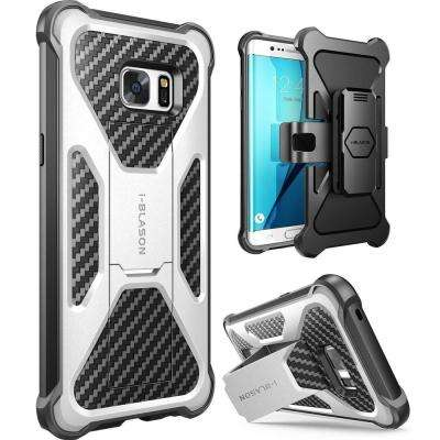 Galaxy Note 7-Transformer Dual Layer Case, White