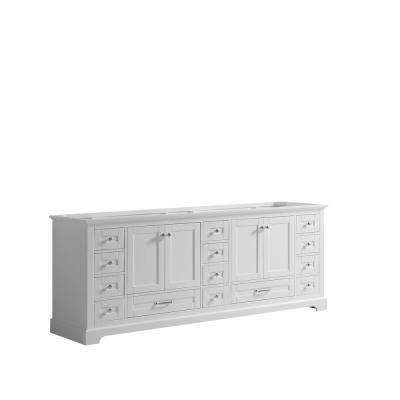 Dukes 84 in. Bath Vanity Cabinet Only in White