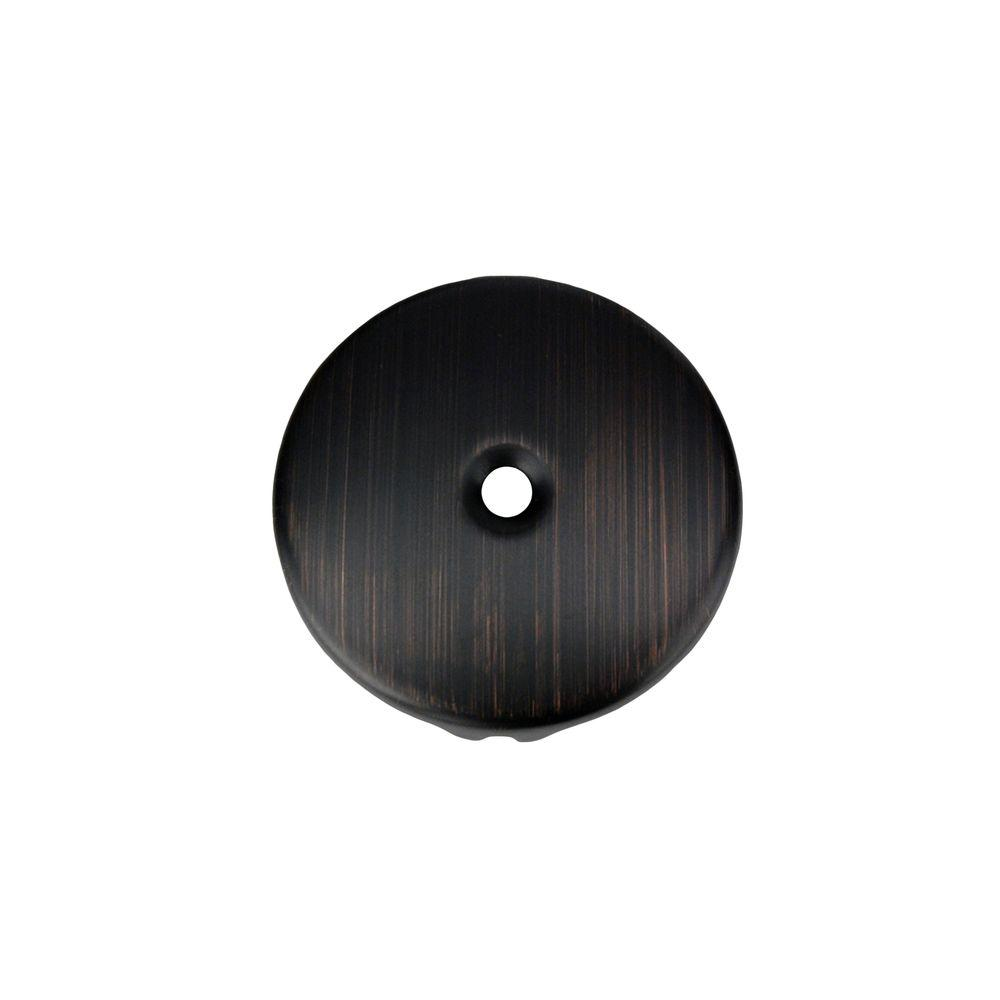 Single-Hole Overflow Cover/Face Plate, Oil Rubbed Bronze