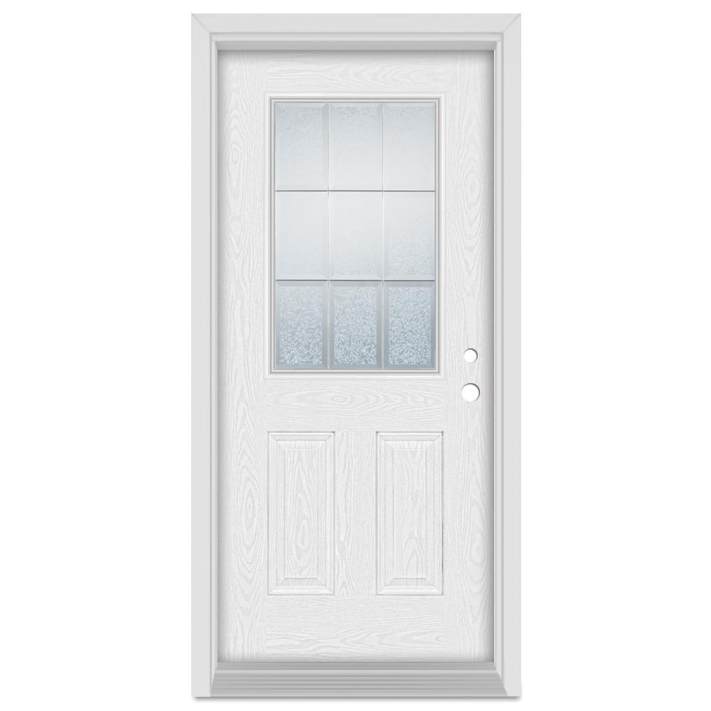 Stanley Doors 33 375 In X 83 In Geometric Left Hand 1 2