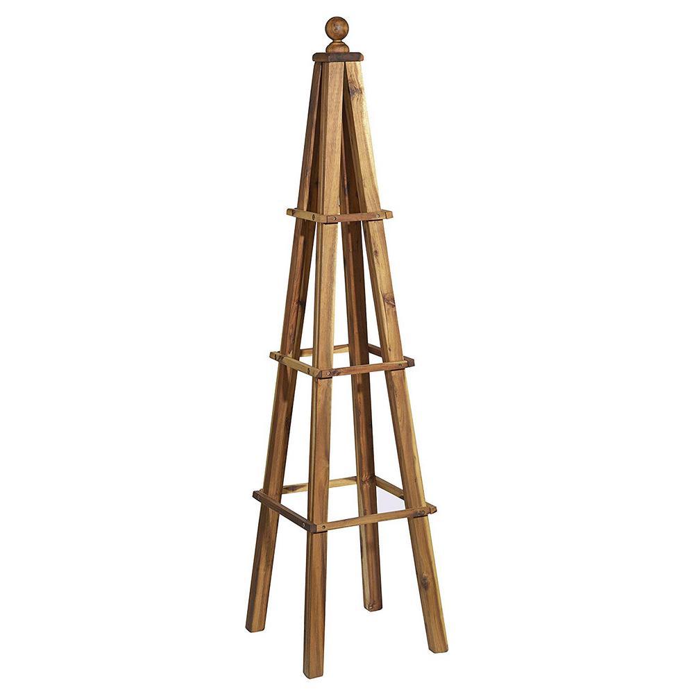 Wood Obelisk, Acacia