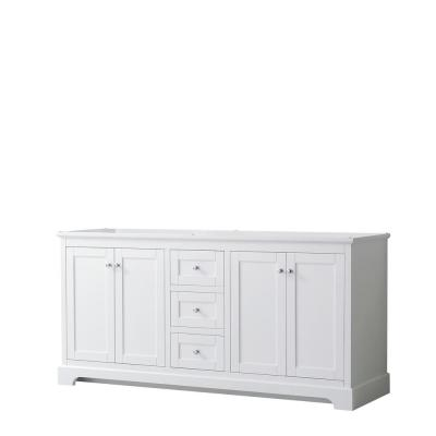 Avery 71 in. W x 21.75 in. D Bathroom Vanity Cabinet Only in White