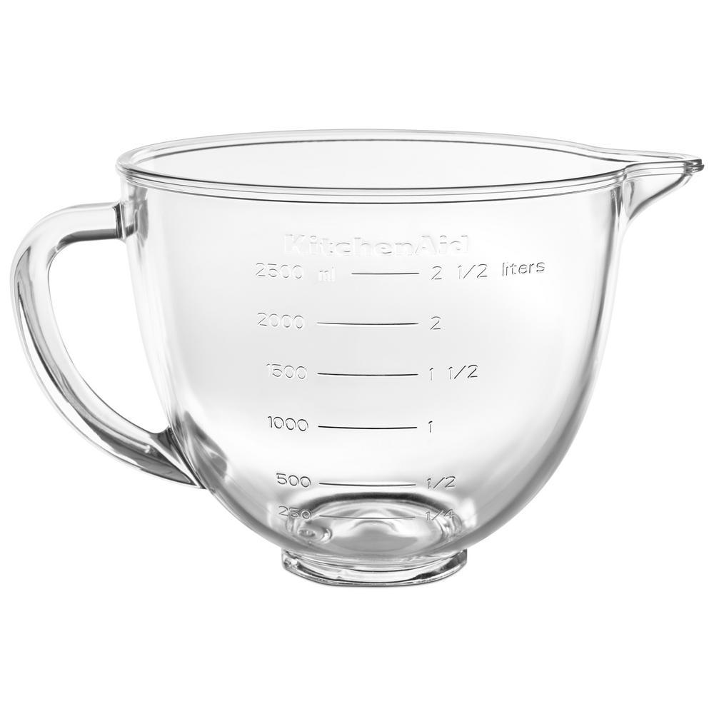 35 Qt Tilt Head Glass Bowl