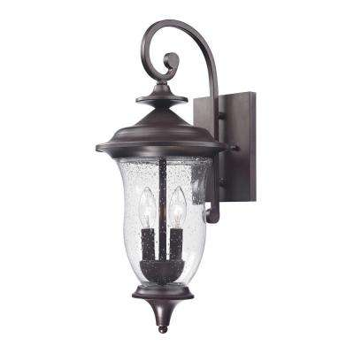 Trinity 2-Light Outdoor Oil Rubbed Bronze Sconce