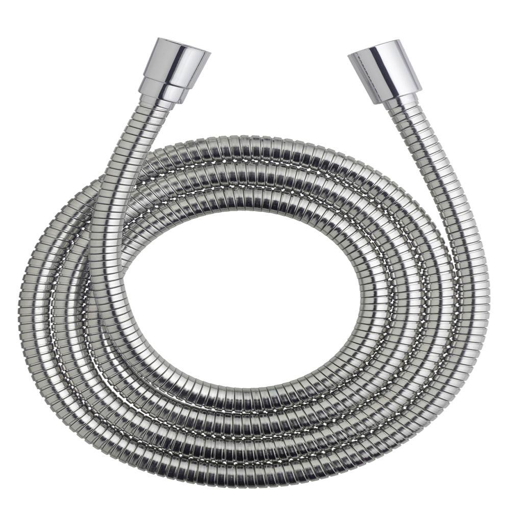 75 in. Stretchable Metal Shower Hose with Stretch-Flex Technology
