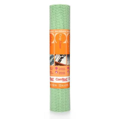 Grip Liner 12 in. x 5 ft. Sage Non-Adhesive Grip Drawer and Shelf Liner (6-Rolls)