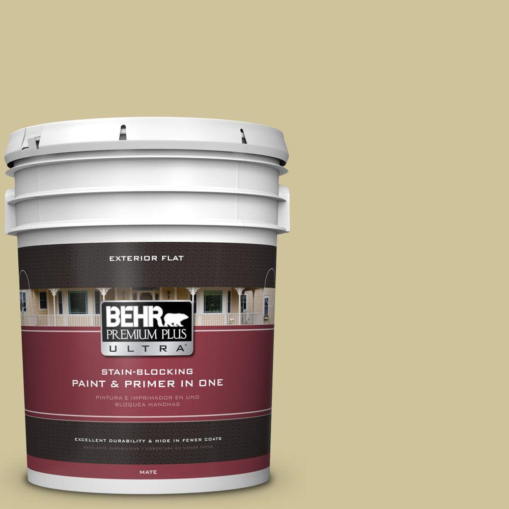 BEHR Premium Plus Ultra 5-gal. #390F-4 Outback Flat Exterior Paint
