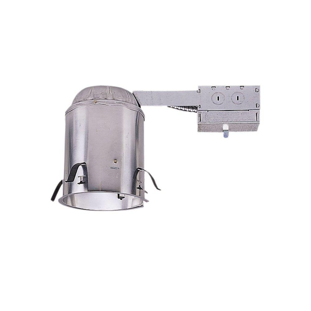 Halo H550 5 in. Aluminum LED Recessed Lighting Housing for Remodel Ceiling, T24 Compliant, Insulation Contact, Air-Tite
