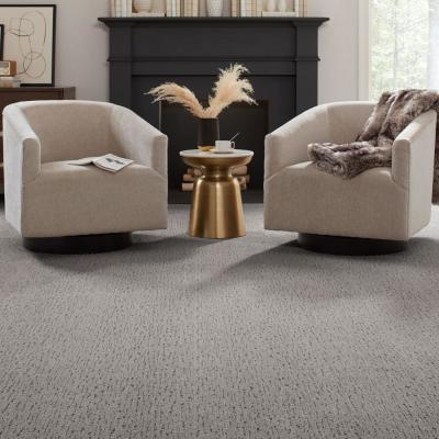 Chester-Color Timeless Textured 12 ft. Carpet