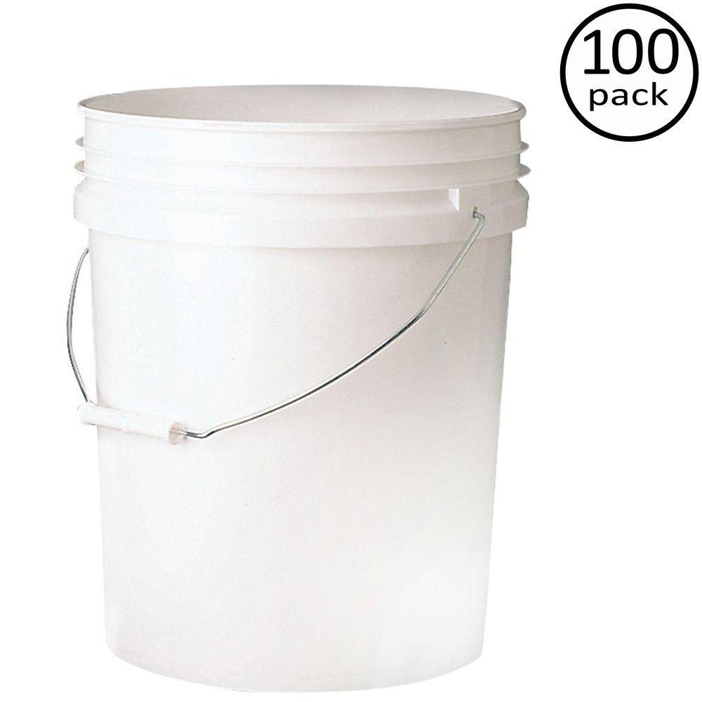 Premium 5-Gal. Food Storage Container (100-Pack)
