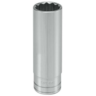 1/2 in. Drive 1/2 in. 12-Point SAE Deep Socket