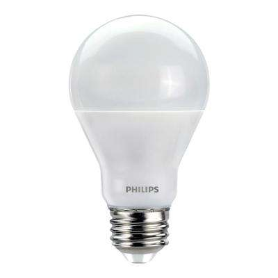 60W Equivalent Soft White with Warm Glow A19 Dimmable LED Energy Star Light Bulb (4-Pack)