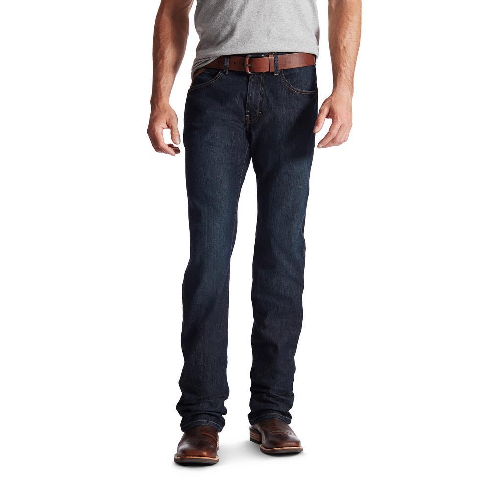Men's Size 32 in. x 38 in. Blackstone Rebar M5 Stackable Straight Leg Jean