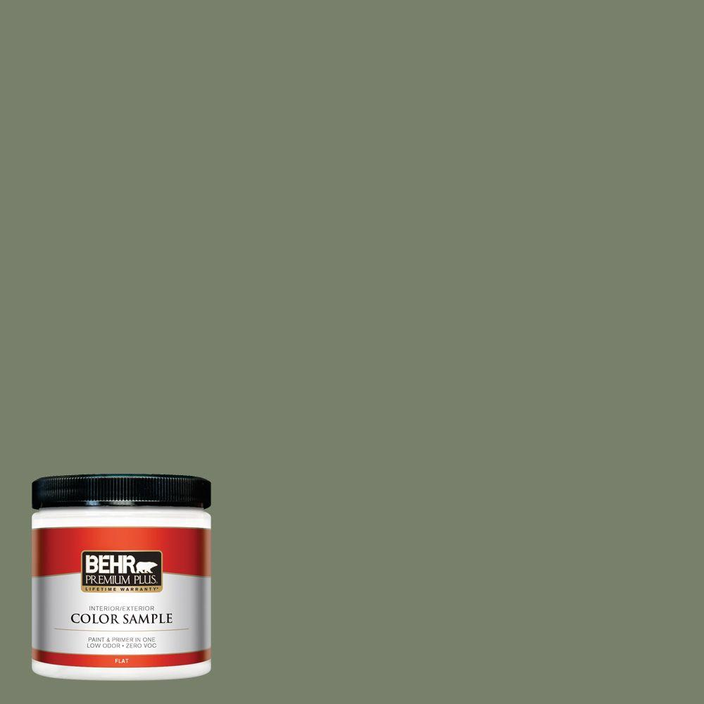 8 oz. #430F-5 Bahia Grass Interior/Exterior Paint Sample