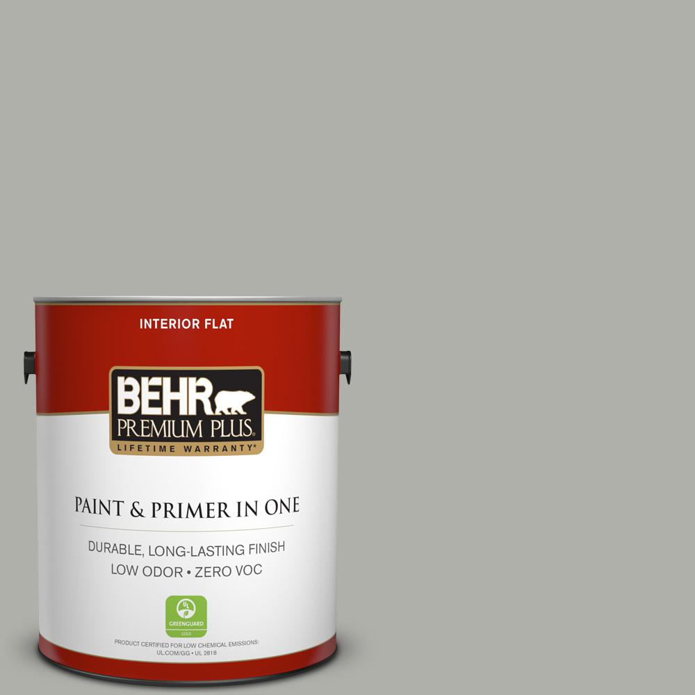 BEHR Premium Plus 1-gal. #BNC-06 Urban Putty Flat Interior Paint
