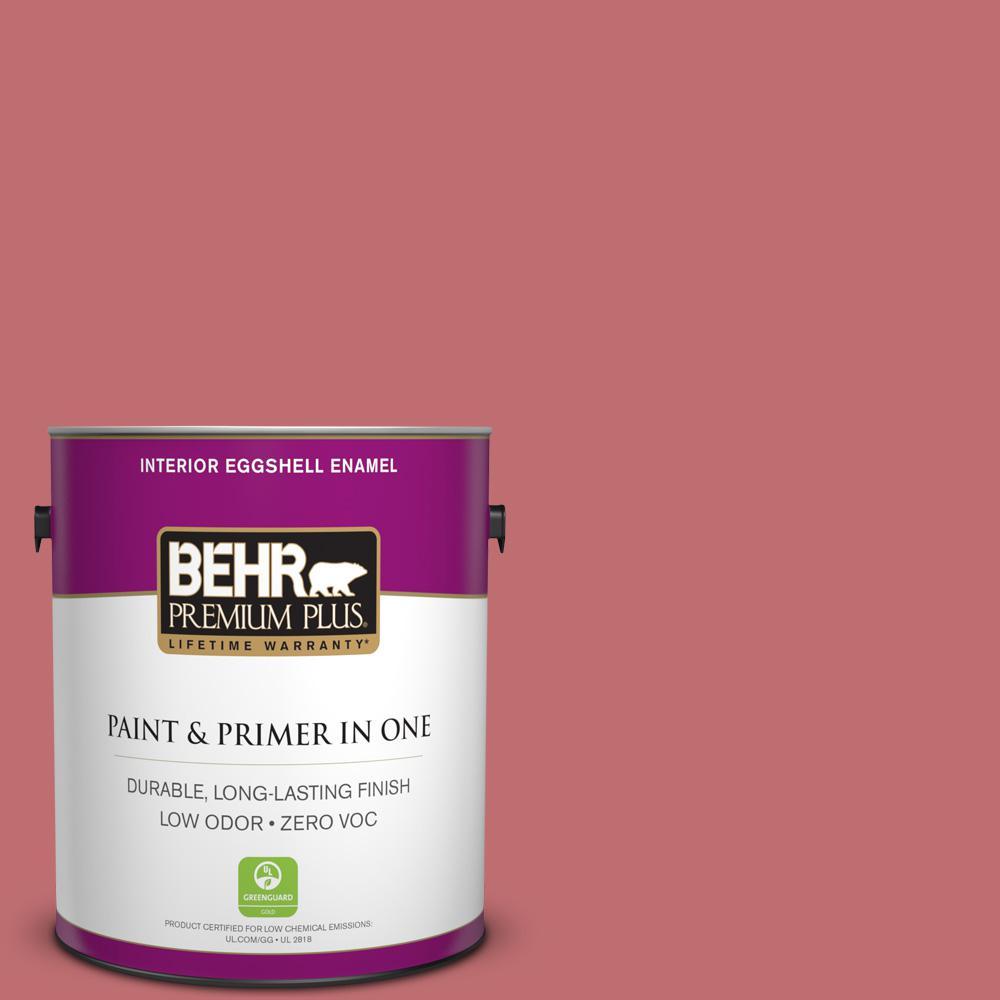 1-gal. #HDC-SP14-8 Art House Pink Zero VOC Eggshell Enamel Interior Paint