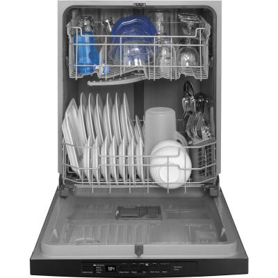 Top Control Tall Tub Dishwasher in Black with Steam Cleaning, ENERGY STAR, 54 dBA