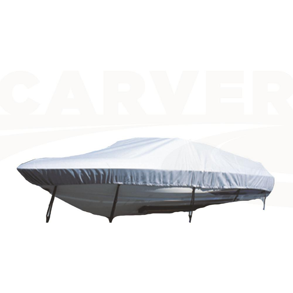17 ft. to 19 ft. Flex-Fit Poly-Flex Boat Cover for Tri-Hull